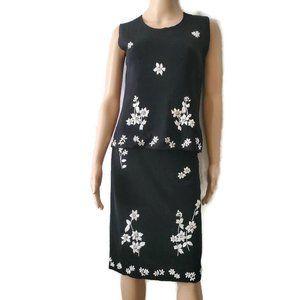 Thom Smith Atelier XXI Black Blouse & Skirt Set XS